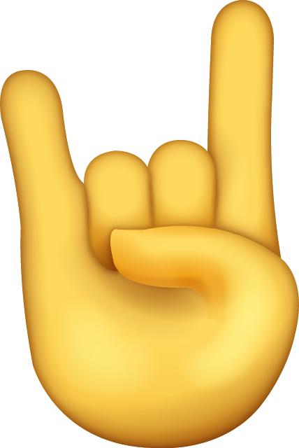 Download Rock Emoji [Free Download IOS Emojis] Icon File